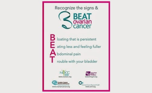 Help beat ovarian cancer
