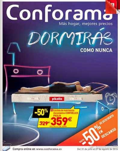 catalogo conforama agosto 2014