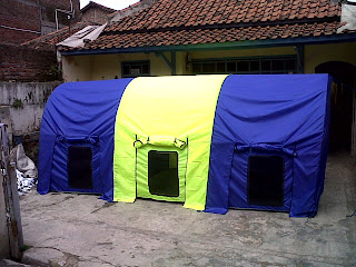 tenda dome lorong, tenda dome, jual tenda dome, harga tenda dome, tenda dome murah