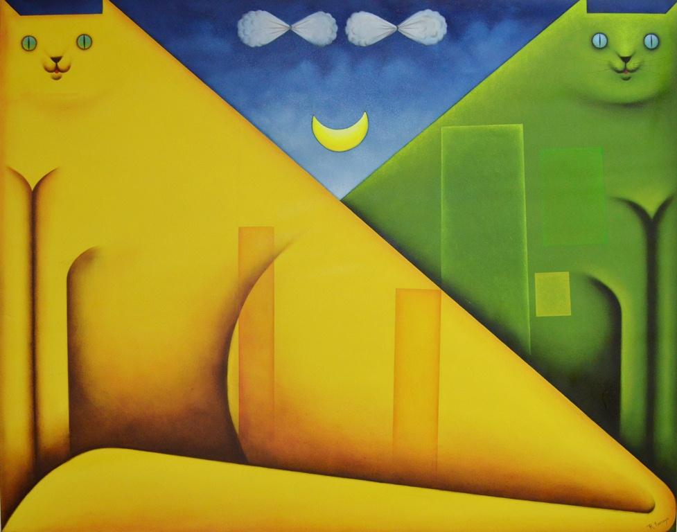 Los mejores pintores fot grafos y escultores de colombia for Imagenes de cuadros abstractos geometricos