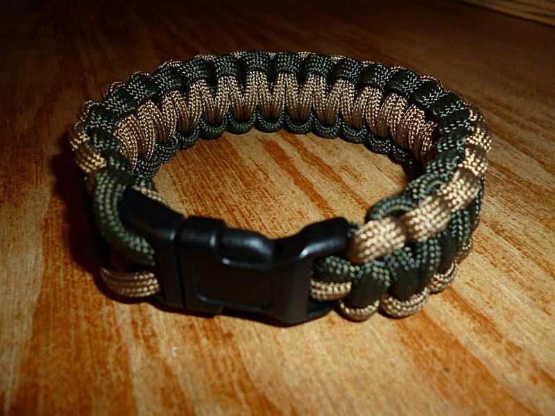 How to make a paracord bracelet using the cobra weave for Paracord wallpaper