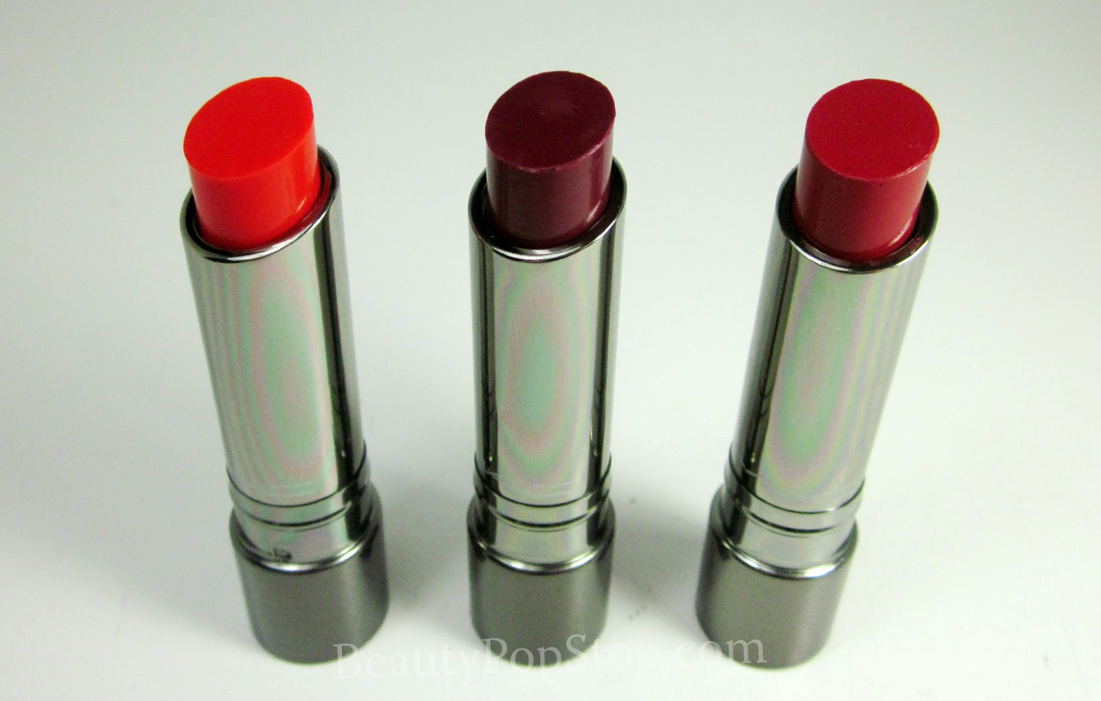 mac huggable lipcolour swatches and review