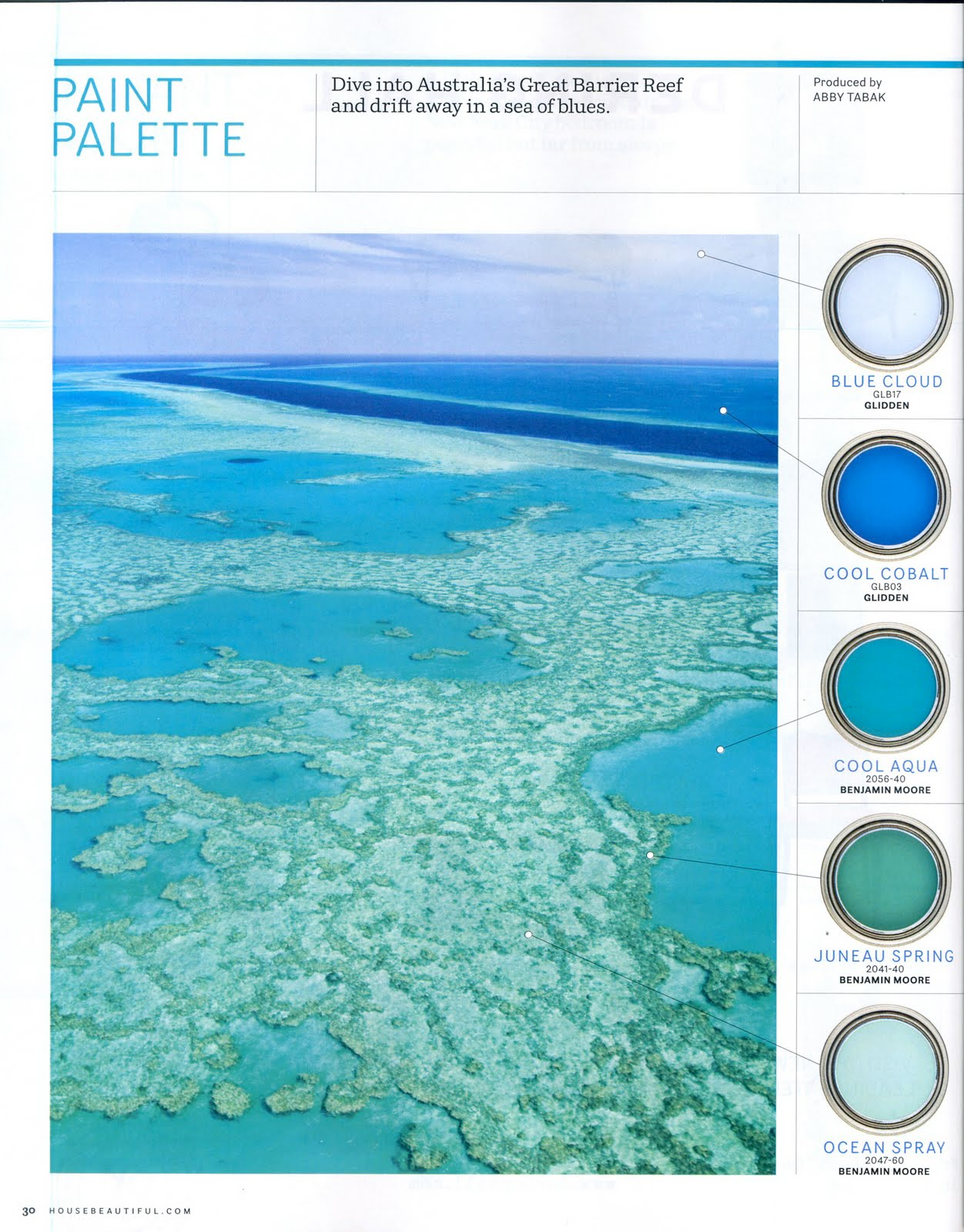 Mallie posh by mallorie jones i honolulu interior design for Coastal blue paint colors