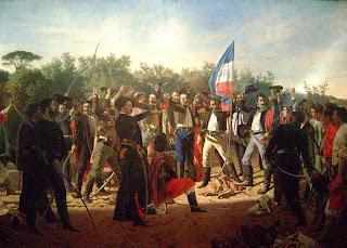 Los guaraníes entre los 33 Orientales