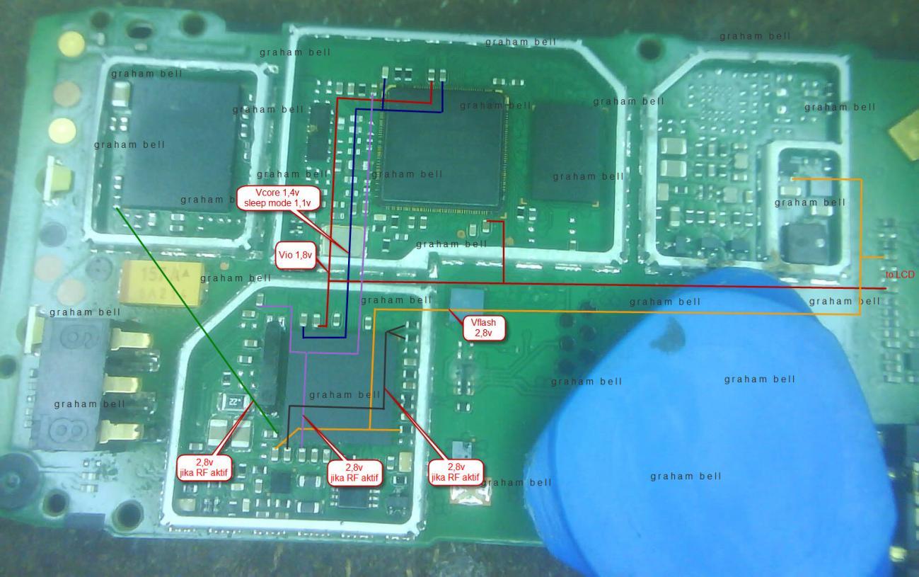 Ibuponsel Test   123  Jalur Lampu  Distribusi Teg Nokia