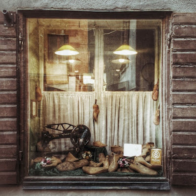 Shoemakers shop window, Stockholm