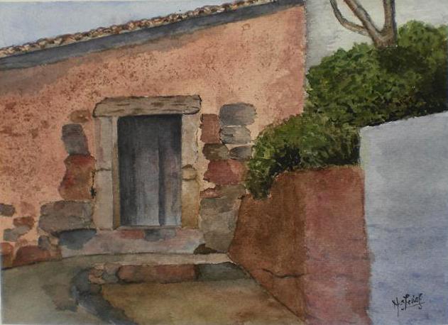 Curso de dibujo y pintura aula creativa docente - Casas en pueblos ...