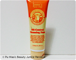 Jimmy'z Skin Care Oil Control Cleansing Foam
