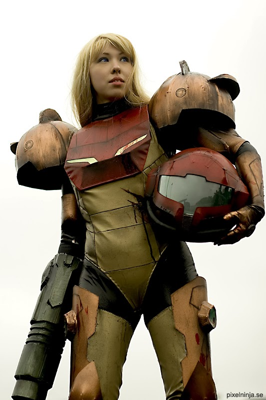 cosplayer-metroid-samus