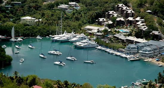 Discovery Hotel at Marigot Bay, St Lucia