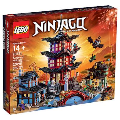 TOYS : JUGUETES - LEGO Ninjago  70751 El Templo de Airjitzu | Temple of Airjitzu  Producto Oficial 2015 | Piezas: 2028 | Edad: +14 años  Comprar en Amazon España