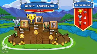 Angry Birds Friends versi terbaru dari game populer untuk android, download disini