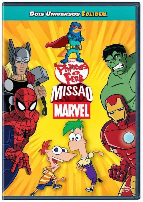 Filme Poster Phineas e Ferb: Missão Marvel DVDRip XviD & RMVB Dublado