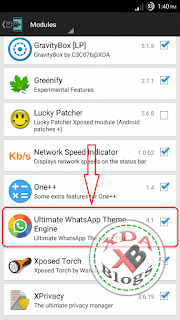 How to change theme in official Whatsapp