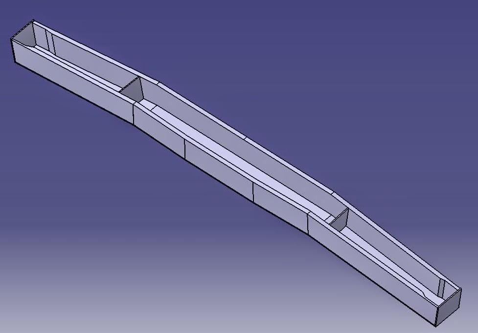 The Long Ez Build  Center Section Spar Overview