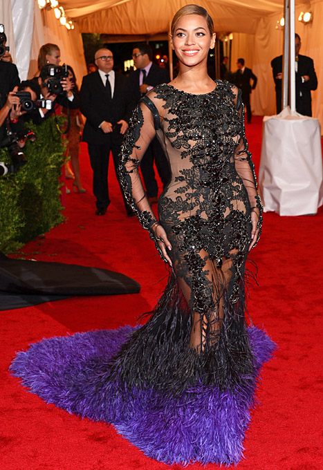 Beyonce Knowles in Givenchy