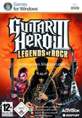Guitar Hero III: Legends of Rock PC Cover