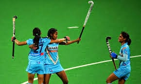 Indian women's hockey team win by Canada 2014 at Commonwealth Games