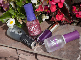 L'Oreal Color Riche #875 Kimono Empire + Orly Pink Your World