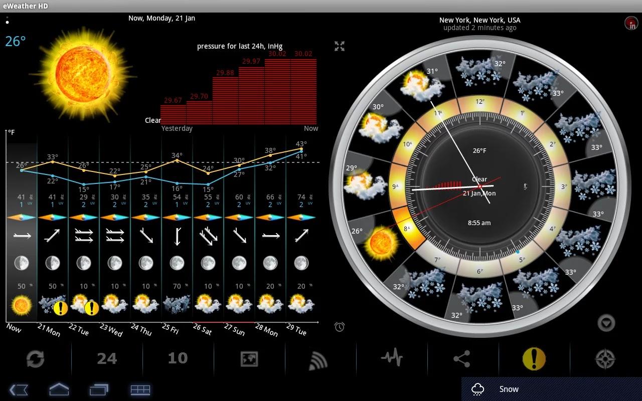eWeather HD Radar HD Alerts v5.3.1 Apk