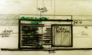 Sketch fachada
