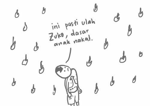 hujan api zuko