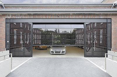 Marzua h rmann presenta la nueva puerta seccional alr for Naves prefabricadas de ocasion