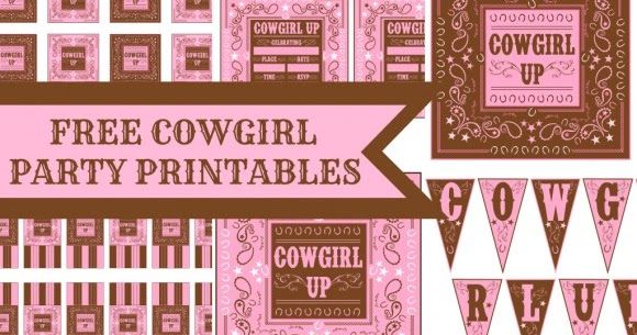 Cowgirl Free Printable Party Kit. | Oh My Fiesta! in english - photo #39
