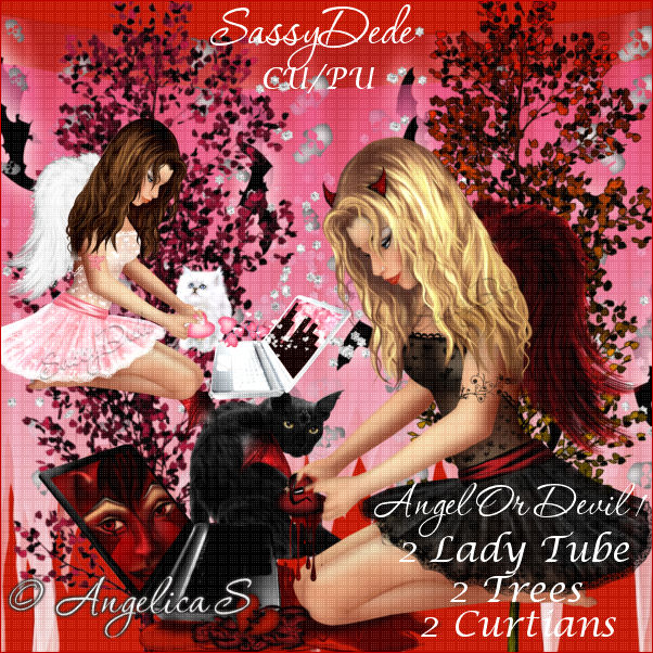 SassyDede: Angelica S....Angel Or Devil