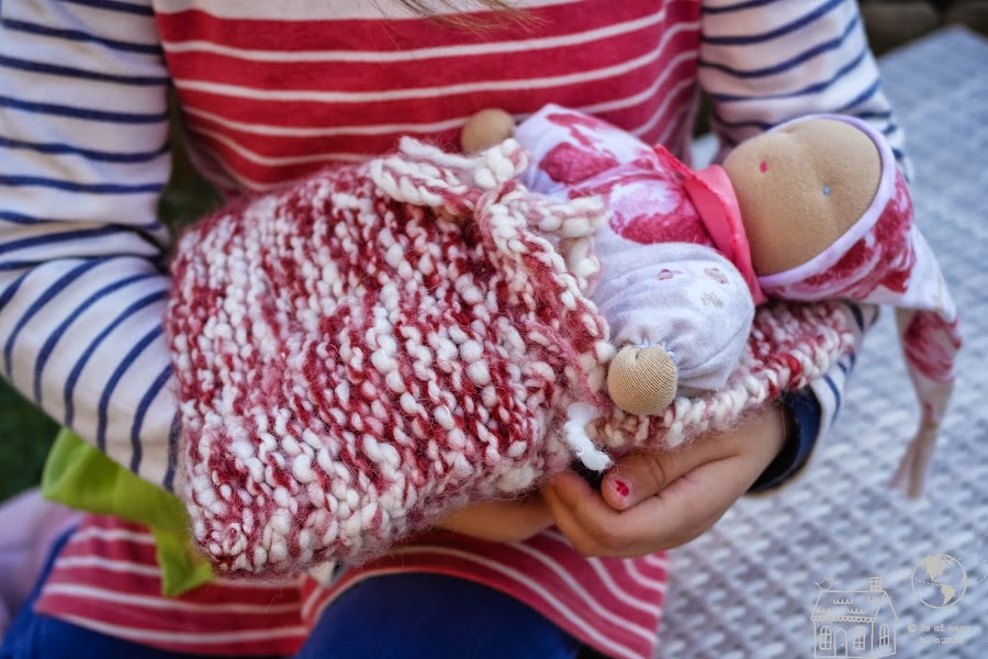 muñeca waldorf bebé diy