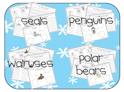 http://www.teacherspayteachers.com/Product/Arctic-Animals-Informational-Writing-Pack-468224