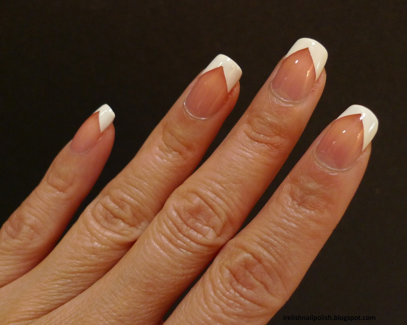 Chevron French With Beverly Hills Plum