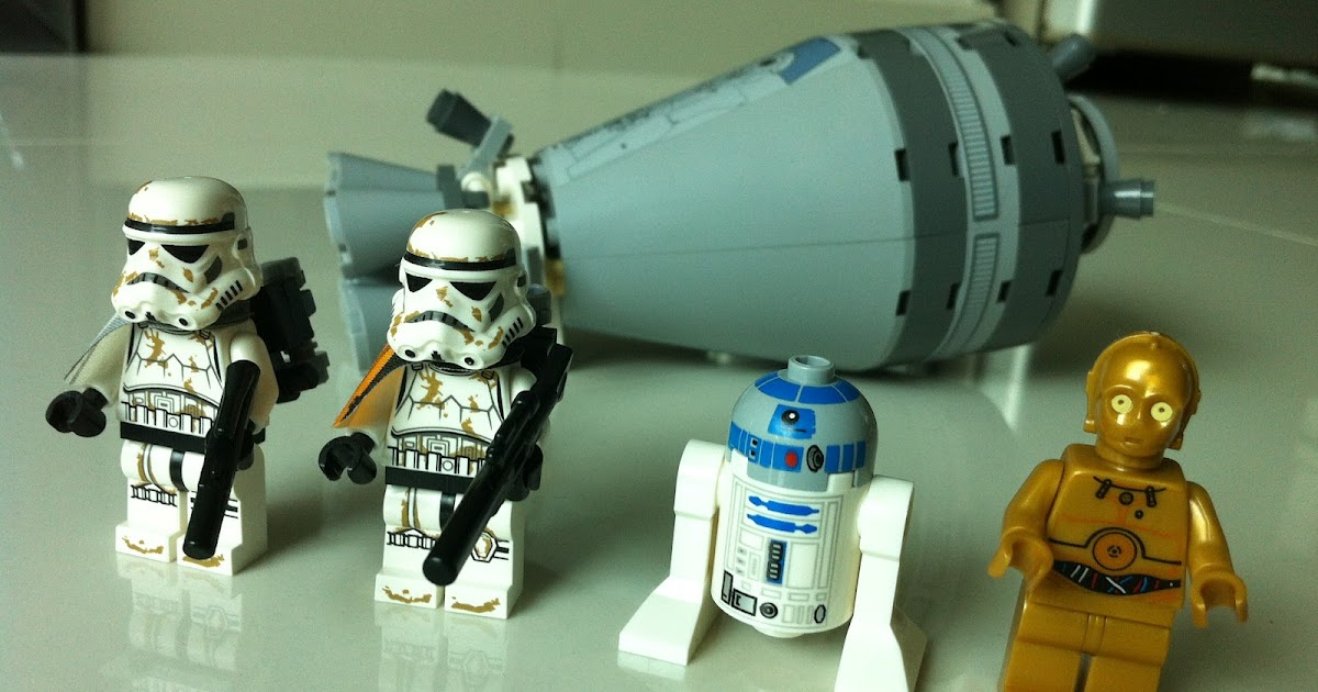 The Marriage Of Lego And Star Wars Review 9490 Droid Escape
