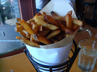 Fries at Duckfat, Portland, Maine