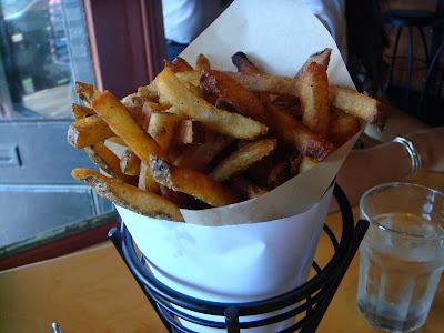 Fries at Duckfat, Portland, Maine