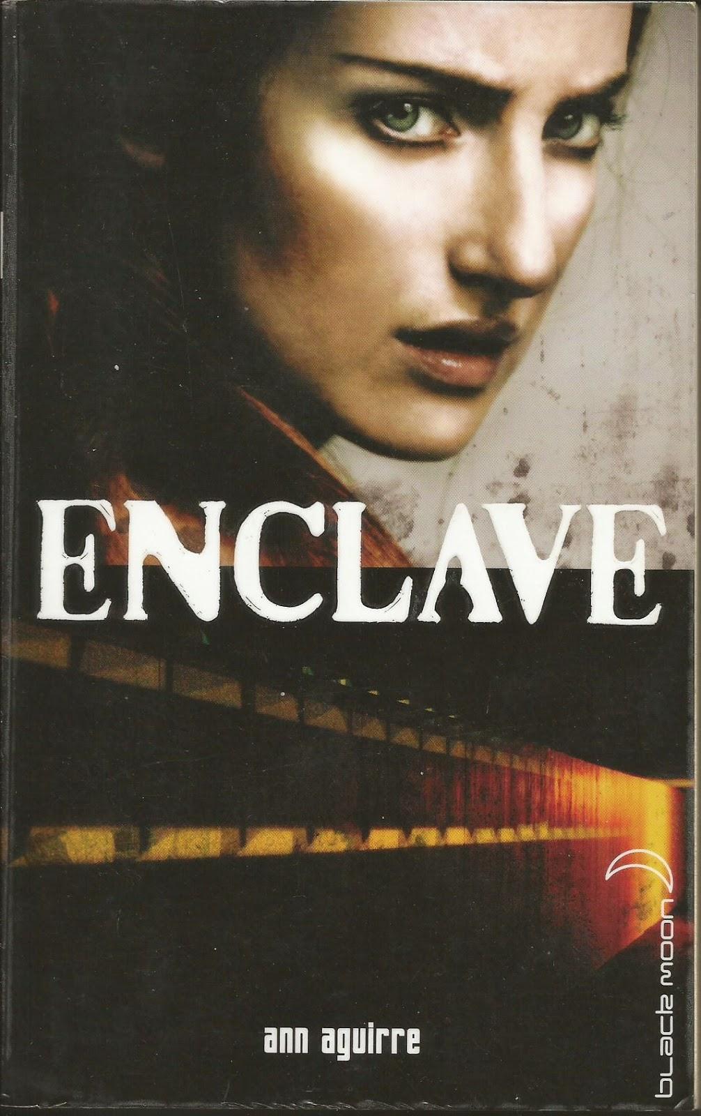 Enclave Ann Aguirre cover couverture