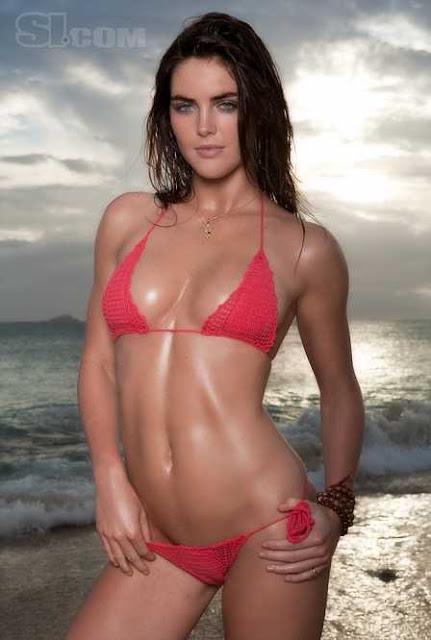 Hilary Rhoda sexy in bikini fashion