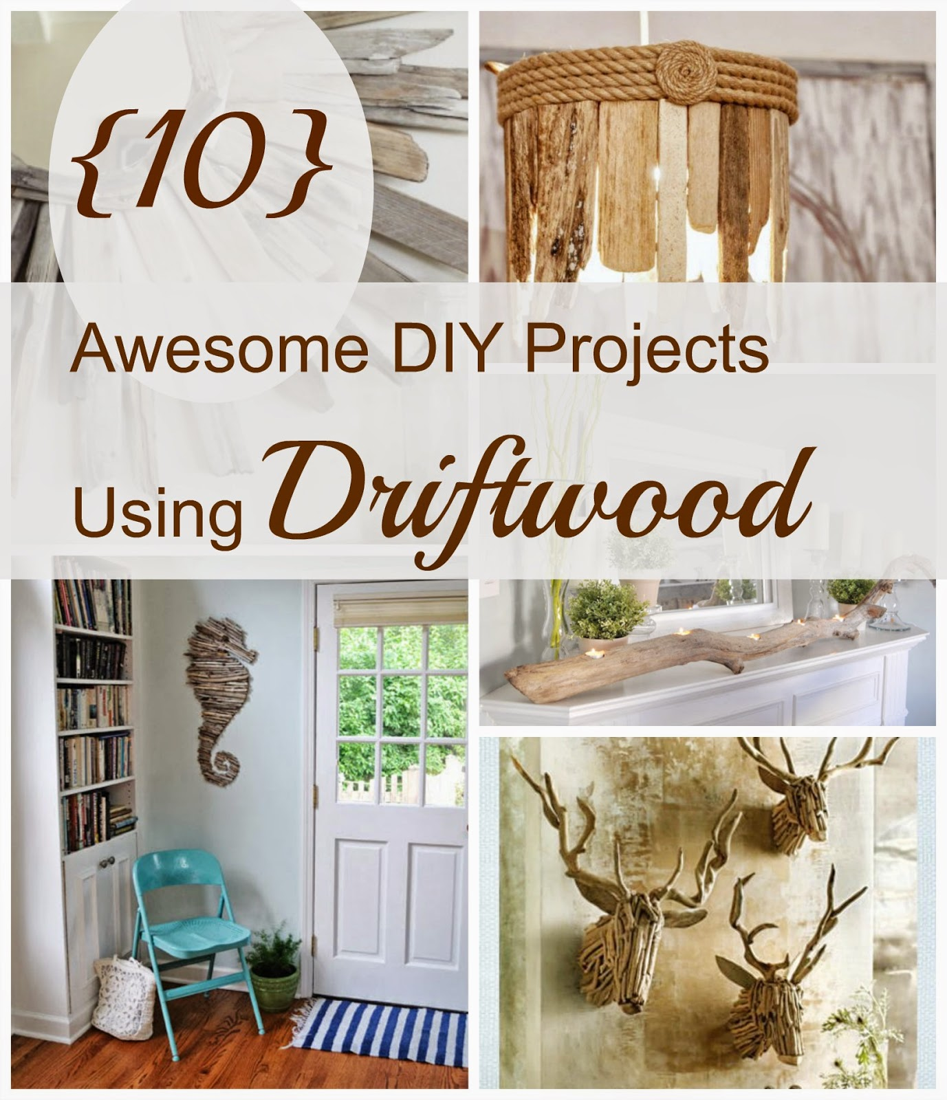 House Revivals: 10 Awesome Driftwood Decorations!