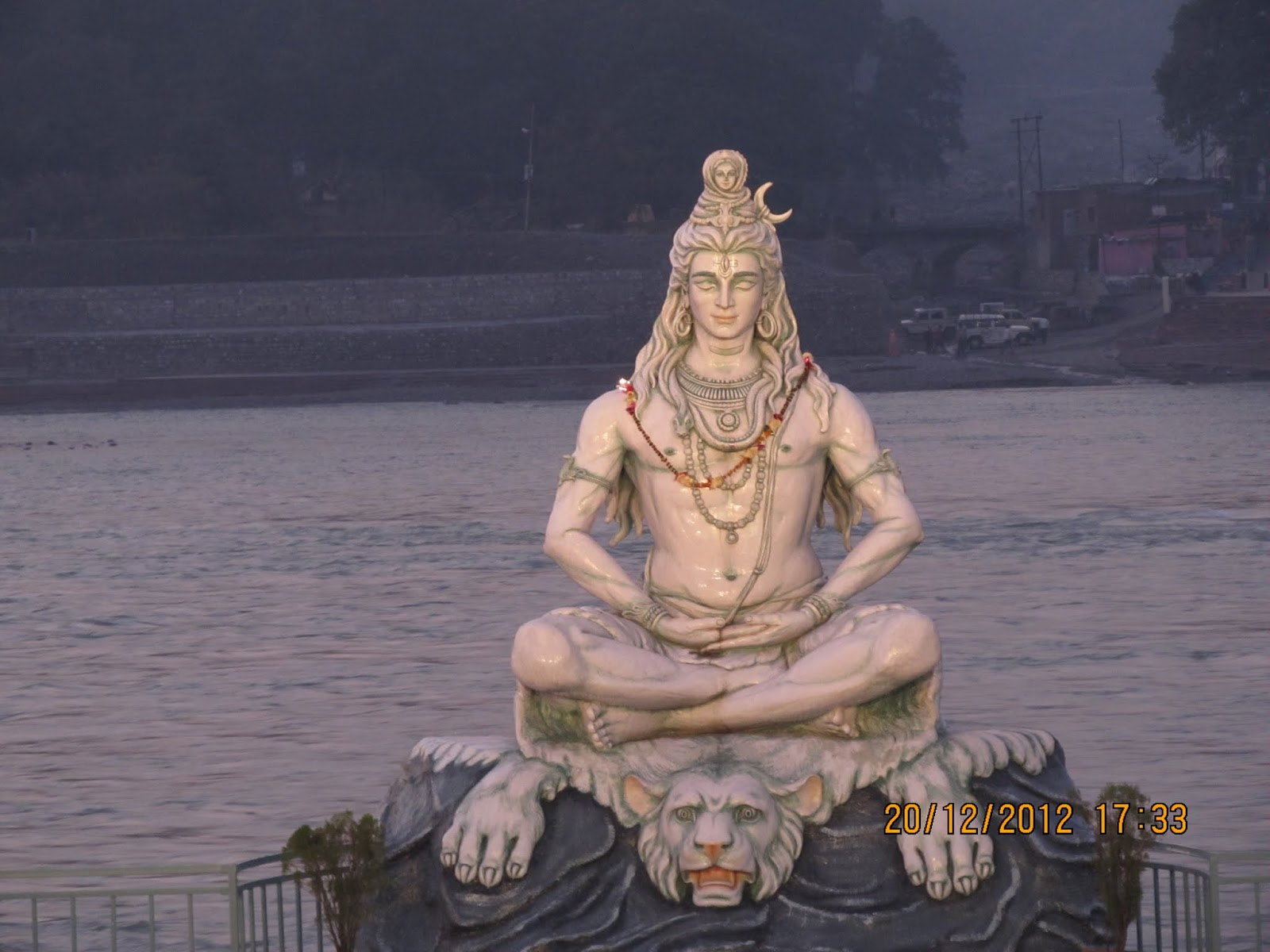 should say I have indeed becomeone Uttarakhand Shiva Statue Now
