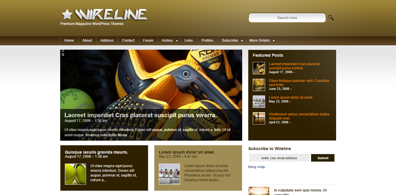 Wireline v2.7.1 - Premium Magazine WordPress Themes