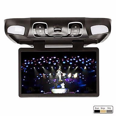 DVD automóvil para el techo