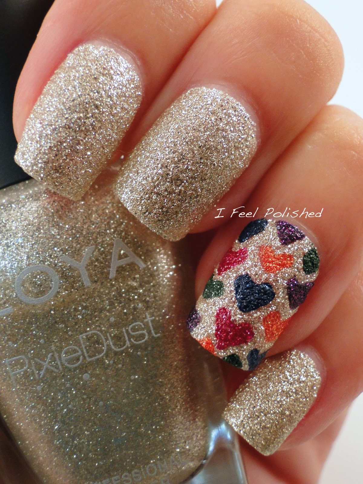 I Feel Polished!: Pixie Dust Nail Art