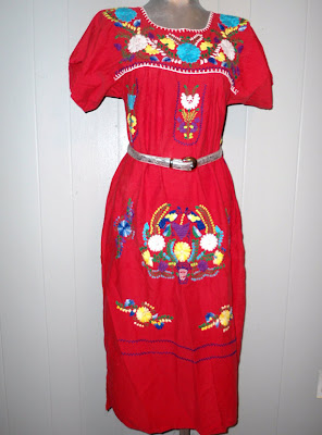 "Mexican Puebla ""Boho"" Dress"