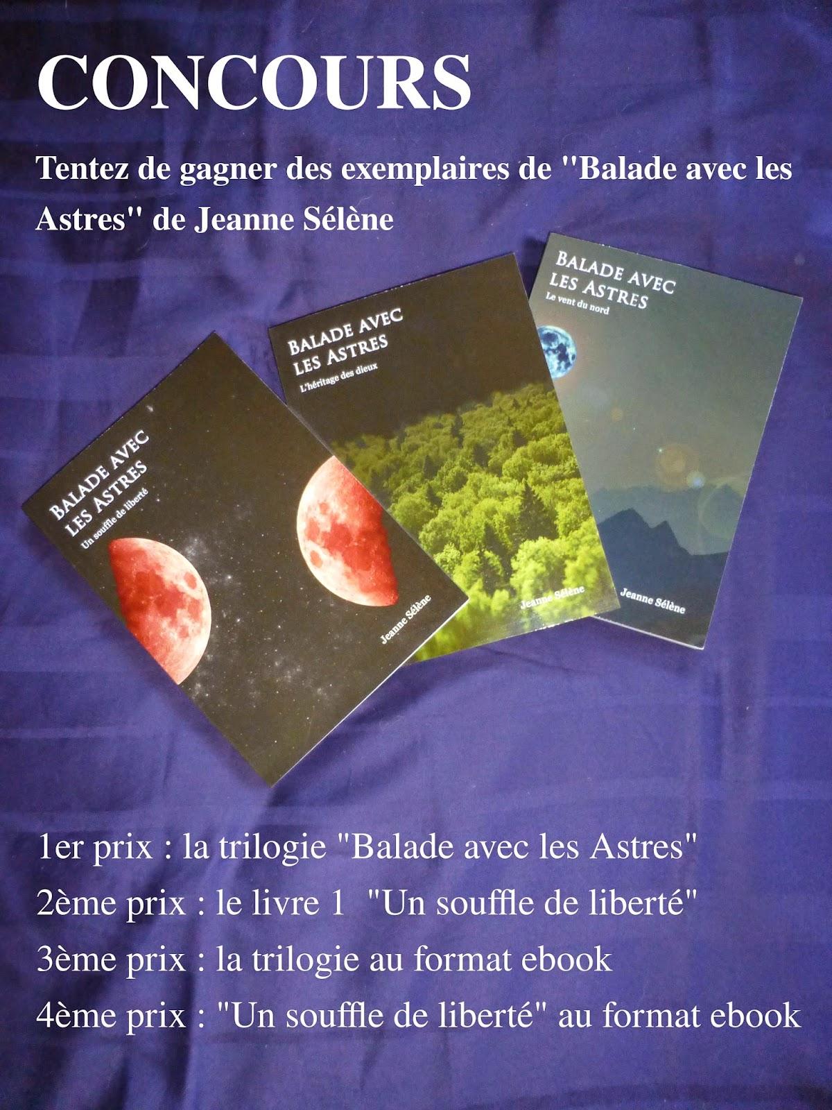 roman de fantasy - auteur Jeanne Sélène - Balade avec les Astres
