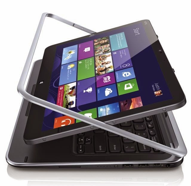 Dell xps 12 notebook tablet mobiles4up for Notebook tablet
