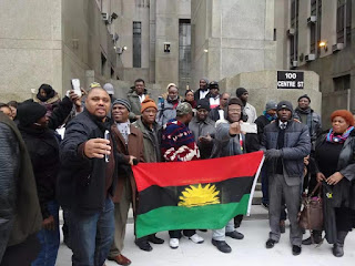 "Nigerian Government Drags IPOB To US Court But ""Runs Away"" After Case Is Called"