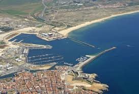 Peniche port layout