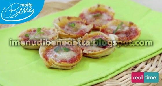 Finte Pizzette di Piadinadi Benedetta Parodi