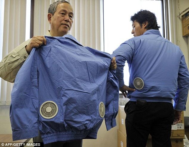 تغلب على حرارة الصيف ، بملابس مكيفة أحد إبداعات اليابان