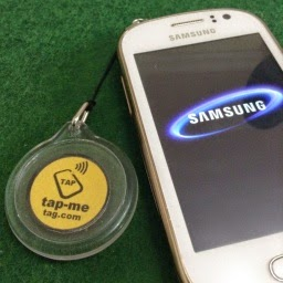 Buy Tap-Me Tag Mobile Phone Charms 38 mm acrylic
